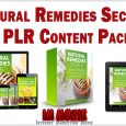 Natural Remedies Secrets PLR Content Pack