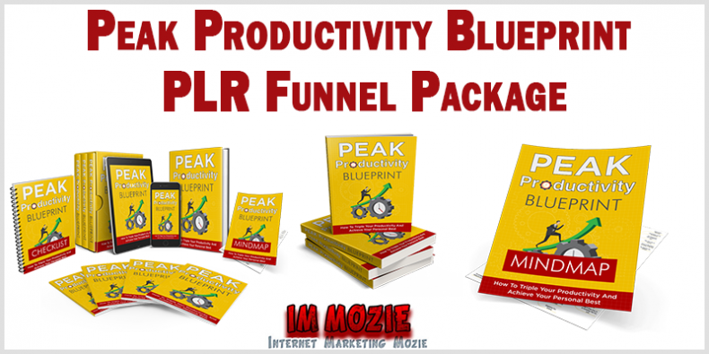 Peak Productivity Blueprint PLR Funnel Package 1