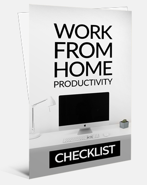Work From Home Productivity Checklist