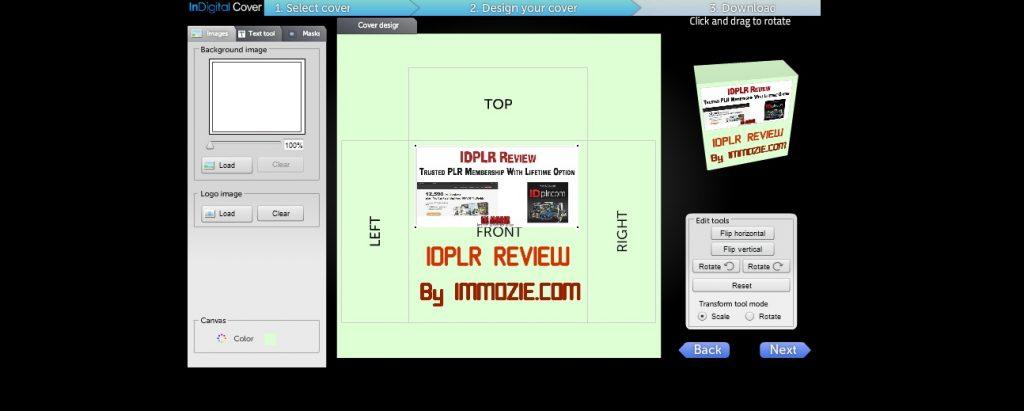 IDPLR eCover Creator