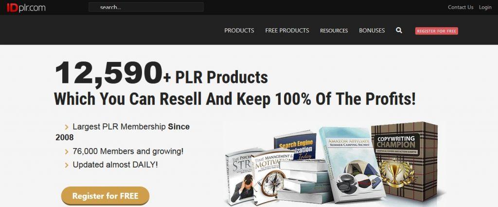 IDPLR free PLR membership site
