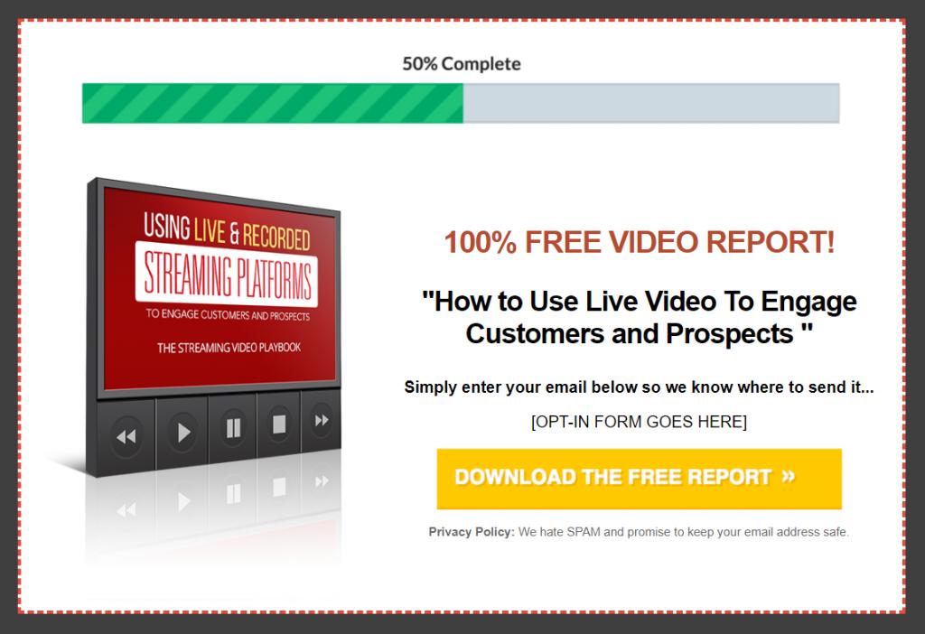 Streaming Video Playbook Lead Magnet