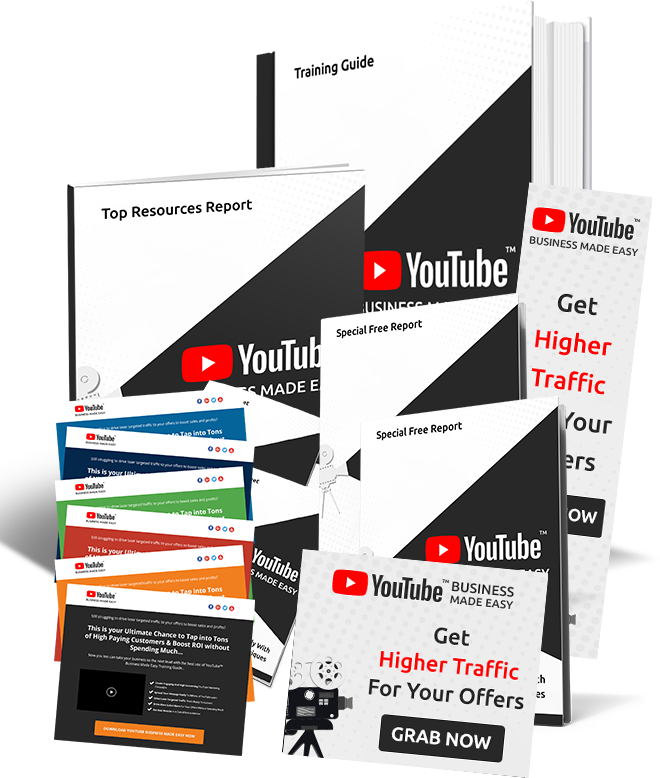 YouTube Business Graphics Pack