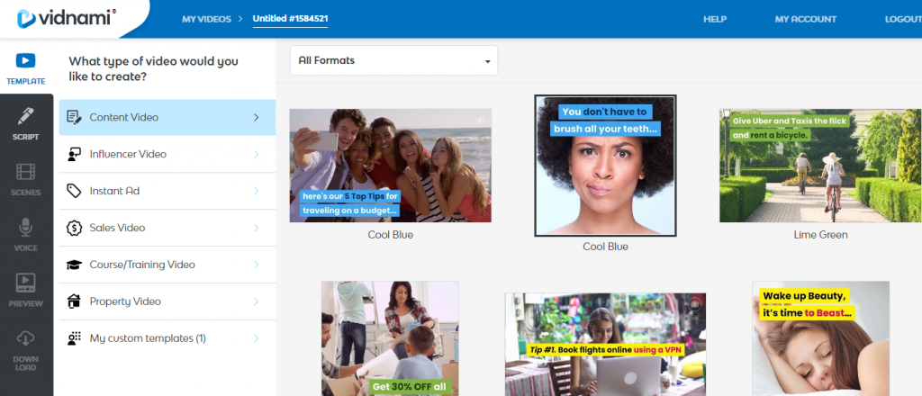 Vidnami Review Automatically Create Marketing Videos