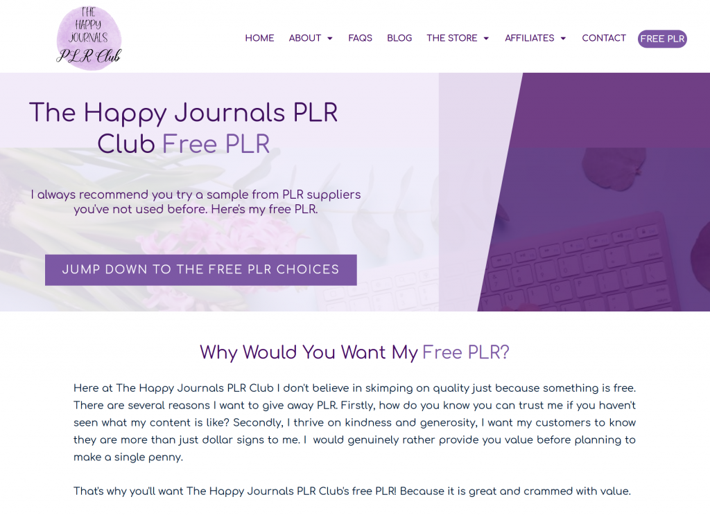 Free PLR Journal Pages Journal Prompts and Page Templates by The Happy Journalss