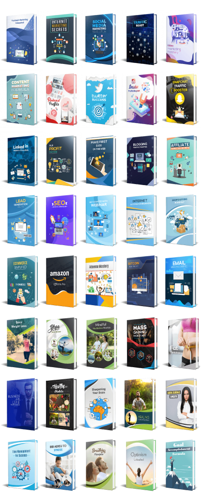 PLR Year End Sale 40 eBooks with 40 eCovers