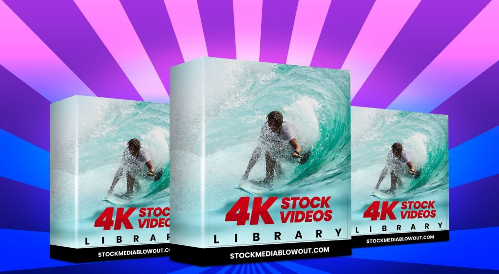 Stock Media Blowout 4K Stock Videos Library