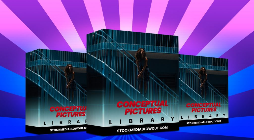 Stock Media Blowout Conceptual Pictures Library
