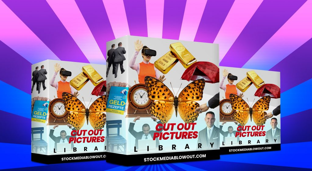 Stock Media Blowout Cut Out Pictures