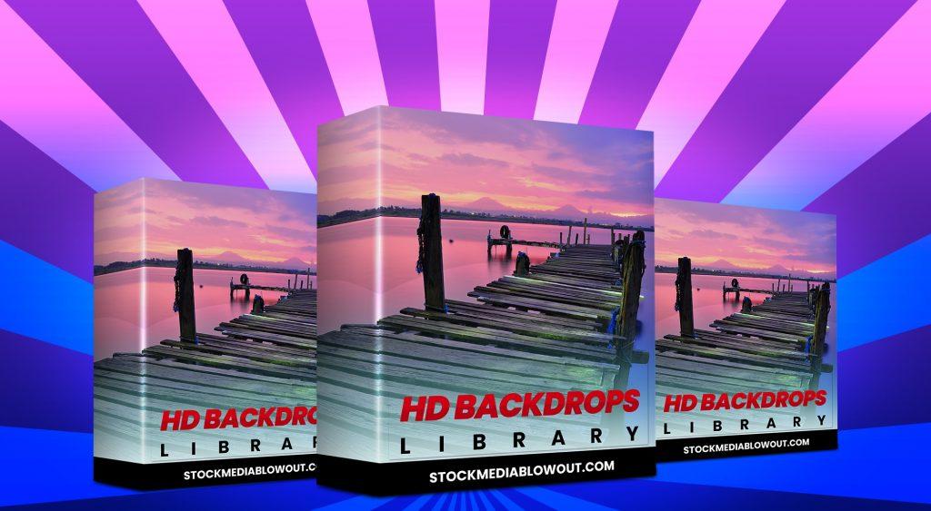 Stock Media Blowout HD Backdrops Library