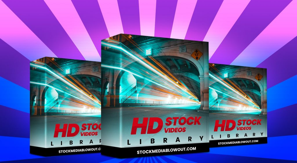 Stock Media Blowout HD Stock Videos Library