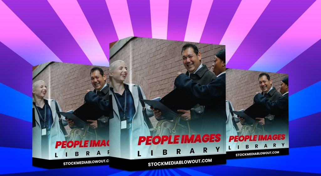 Stock Media Blowout People Images Library
