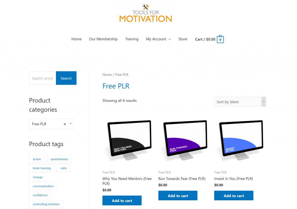 Tools for Motivation – Premium Free Self Help Coaching PLR Content