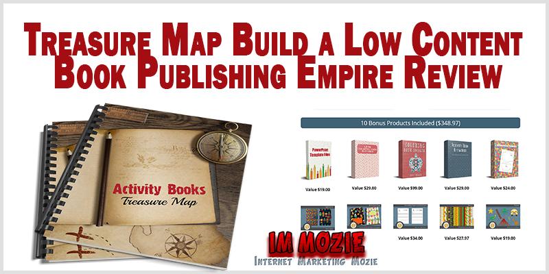 Treasure Map Build a Low Content Book Publishing Empire