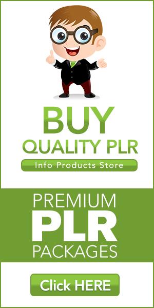 Premium PLR Packages