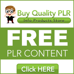 free high quality PLR content
