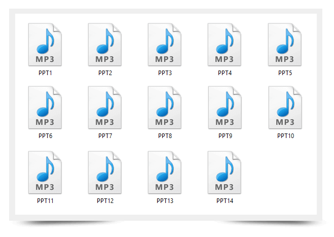 Affincome Training Kit Audio Files