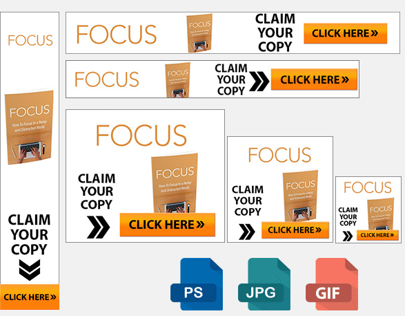 Focus banners