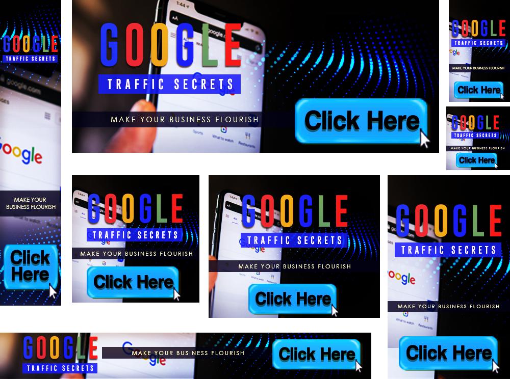 Google Traffic Secrets Banners