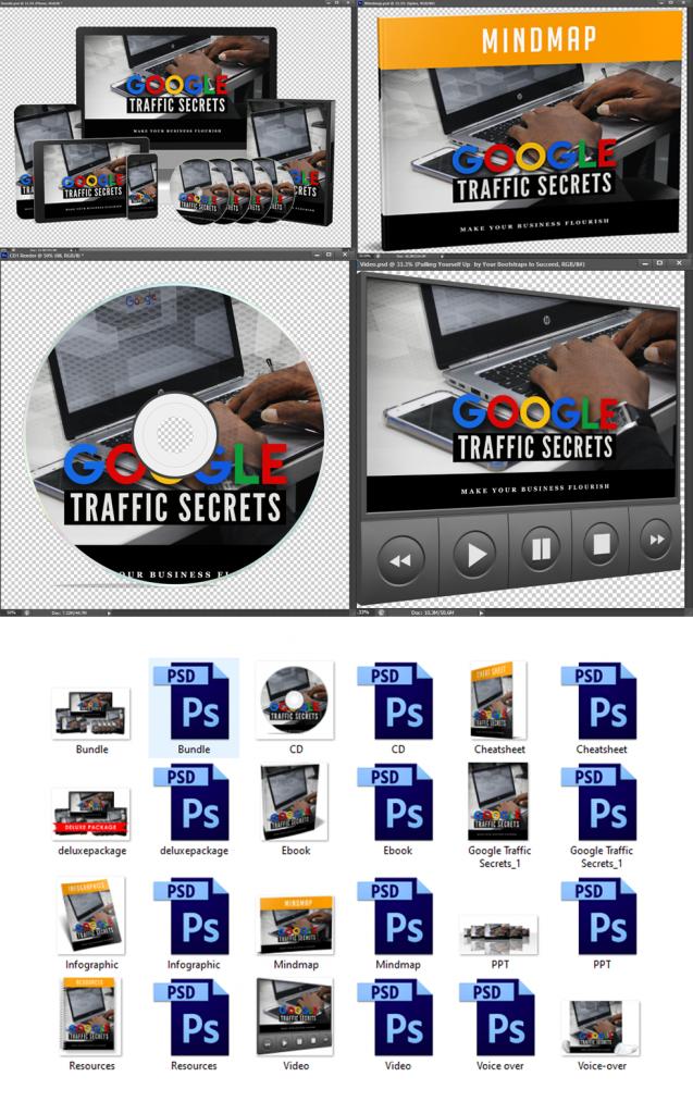 Google Traffic Secrets Graphics