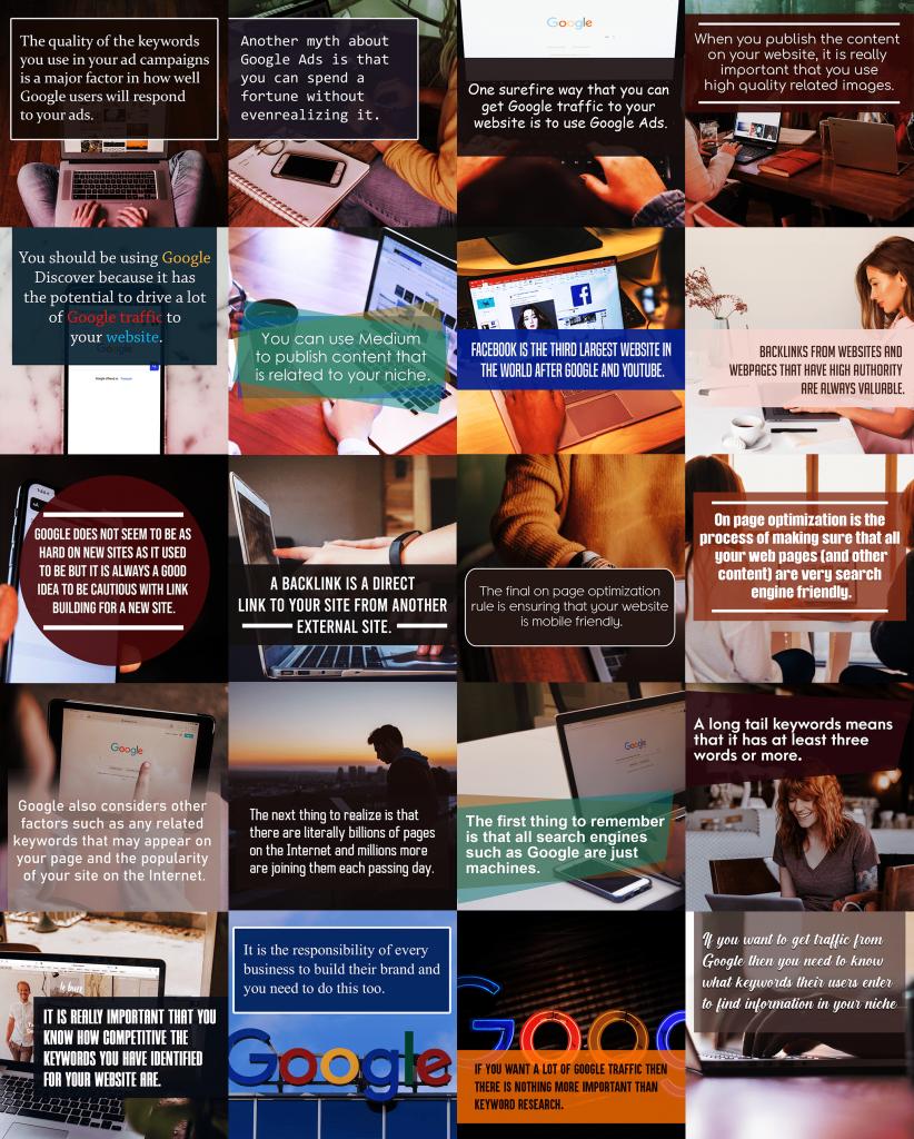 Google Traffic Secrets SocialMedia Images