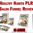 Healthy Habits PLR Sales Funnel