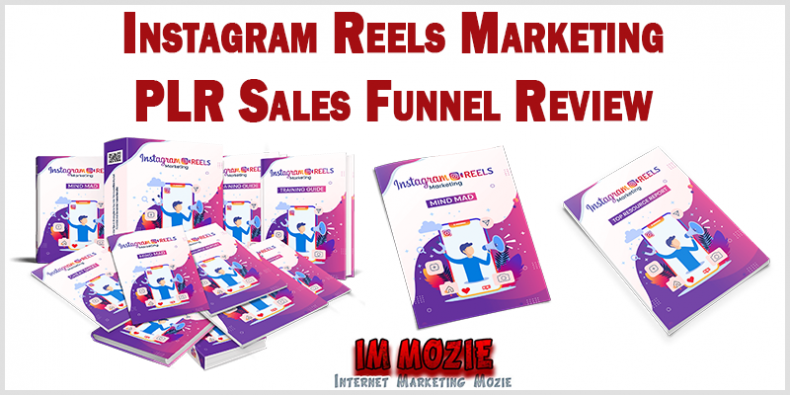 Instagram Reels Marketing PLR Sales Funnel Review