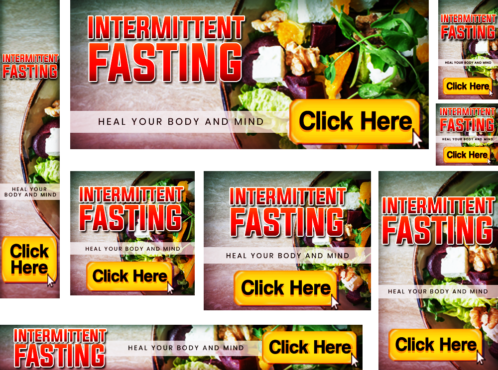 Intermittent Fasting Banners