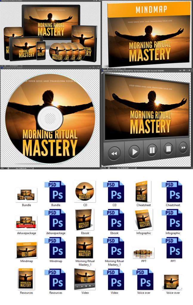 Morning Ritual Mastery Graphics