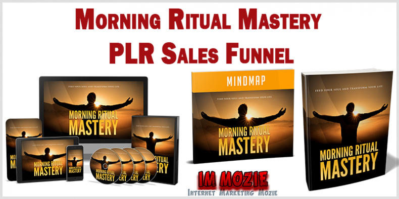 Morning Ritual Mastery PLR Sales Funnel Review