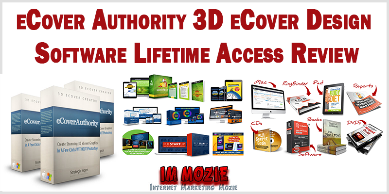 eCover Authority 3D eCover Design Software Lifetime Access Review