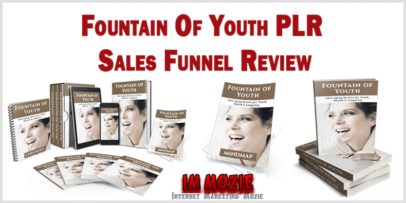 Fountain Of Youth PLR Sales Funnel Review
