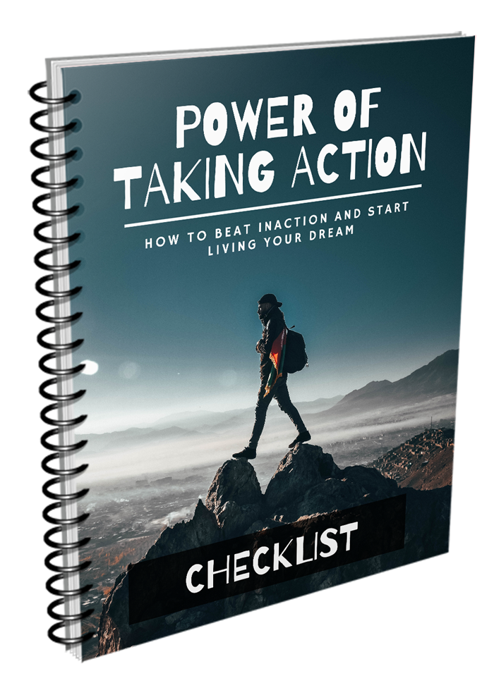Power Of Taking Action Checklist