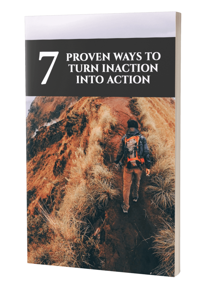 Power Of Taking Action Lead Magnet