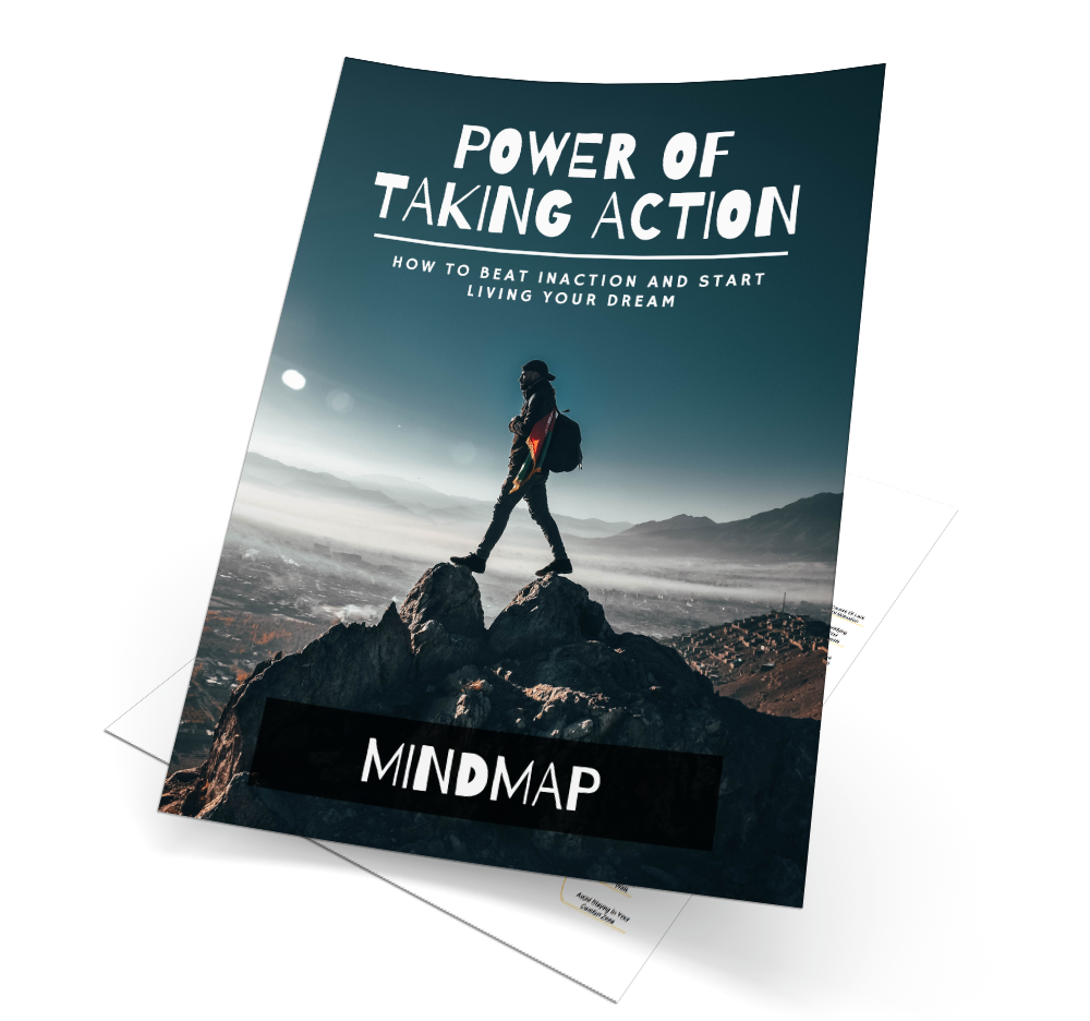 Power Of Taking Action Mind Map