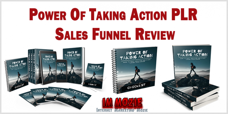 Power Of Taking Action PLR Sales Funnel Review
