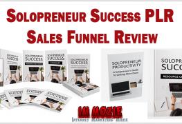 Solopreneur Success PLR Sales Funnel Review