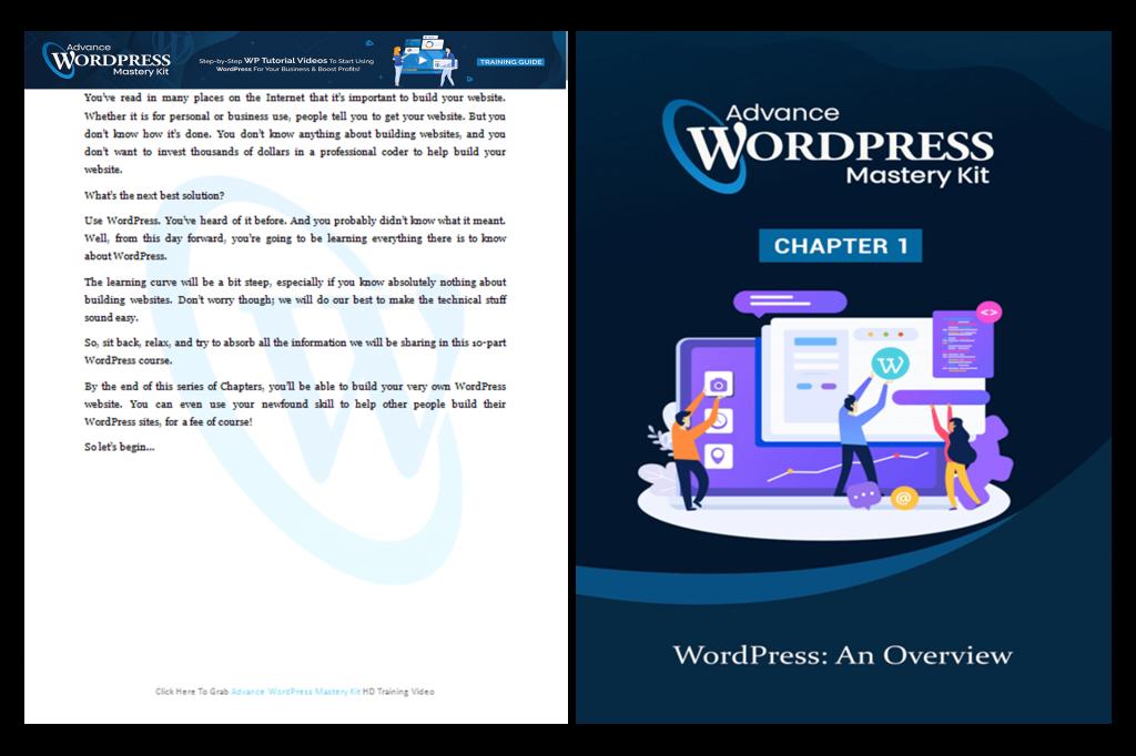 Advance WordPress Mastery Training Guide 1