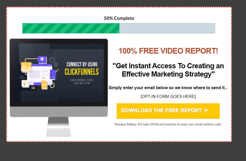 Connect with Clickfunnels Lead Magnet
