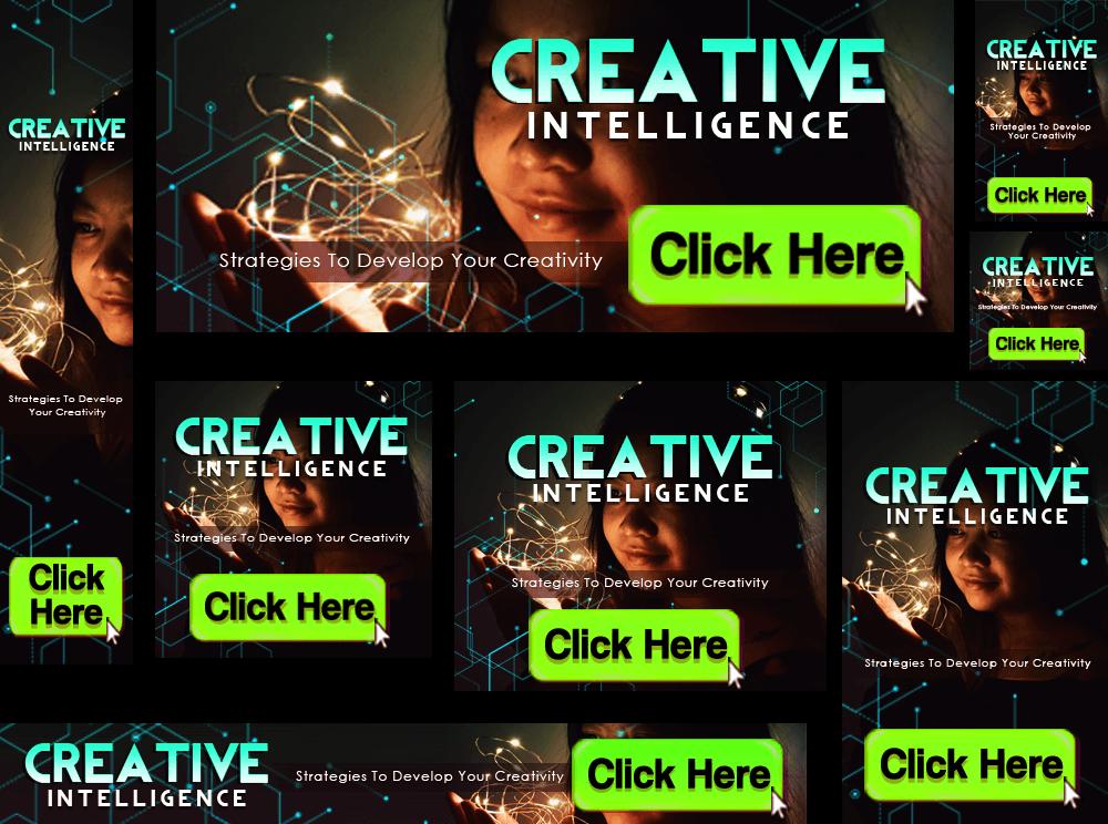 Creative Intelligence Banners