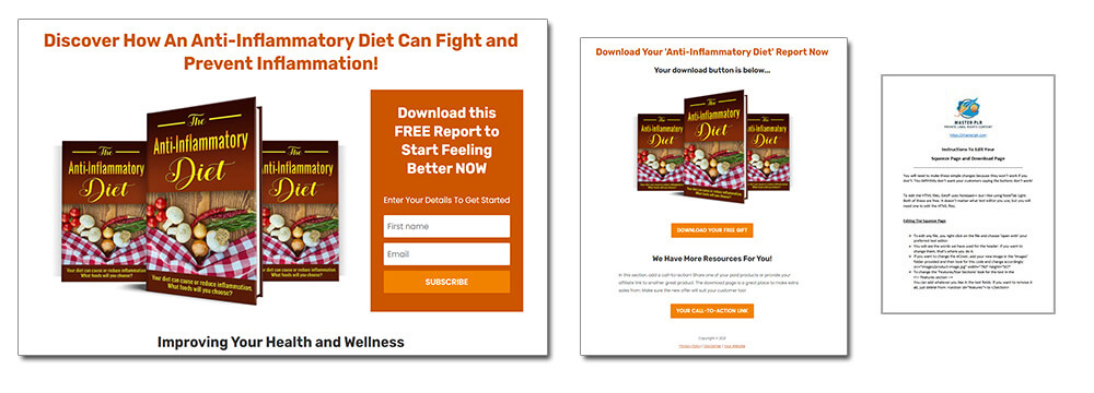 Dietary Health Different Types of Diets Anti Inflammatory Squeeze Page