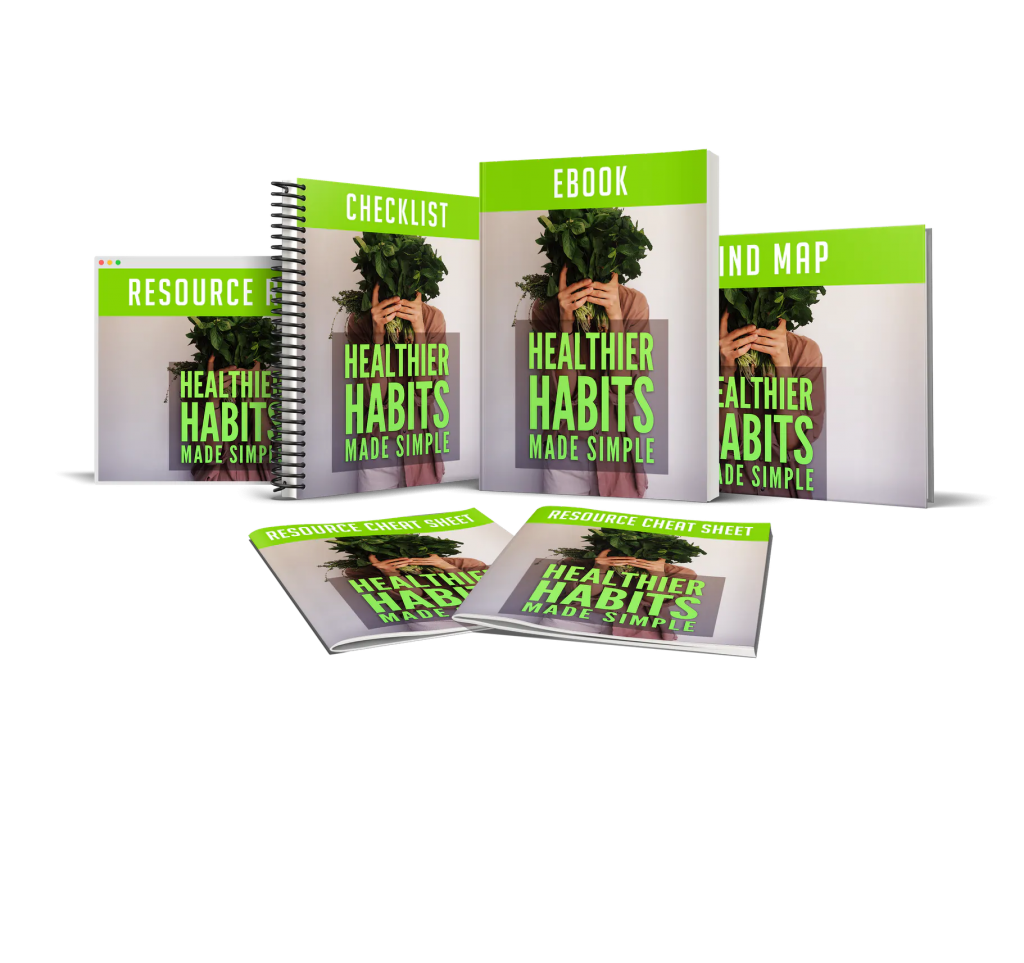 Healthier Habits Made Simple PLR Package