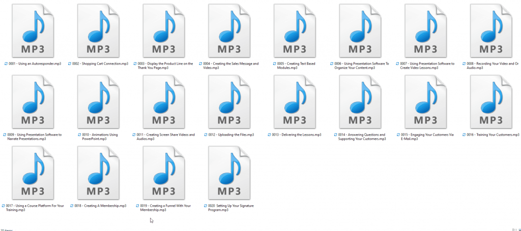 How to Create a Repeat Launch System Mp3 Audios
