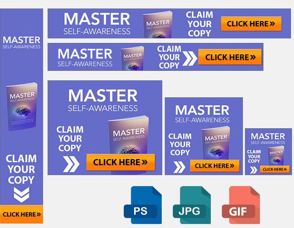 Master Self Awareness Banners