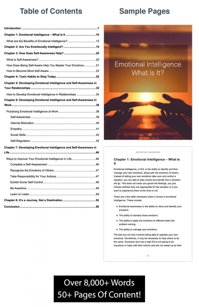Master Self Awareness Ebook Preview