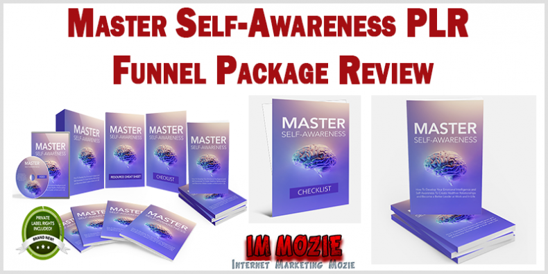 Master Self Awareness PLR Funnel Package Review