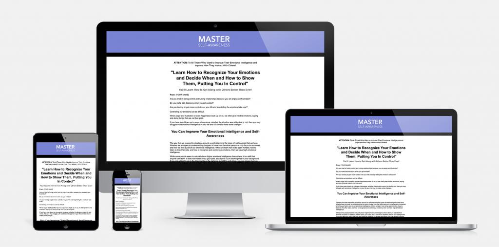 Master Self Awareness Salespage