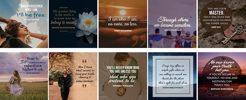Master Self Awareness Social Media Viral Images Pack