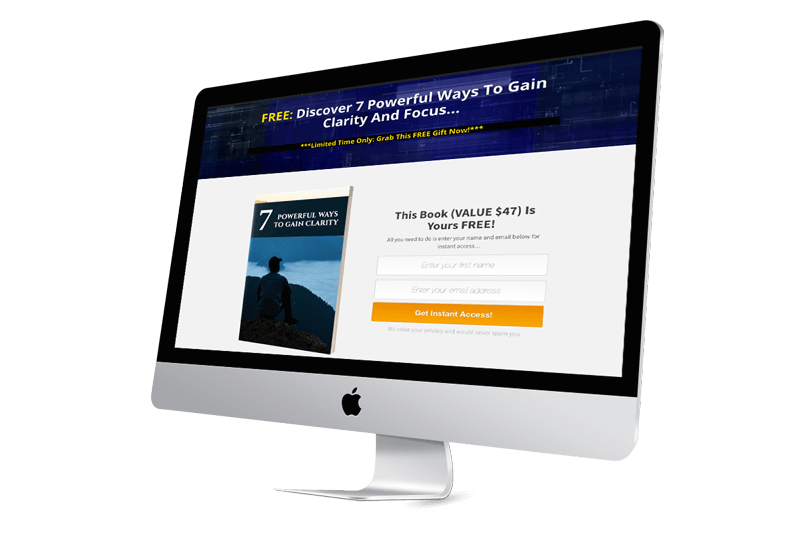 Start With Clarity Landing Page