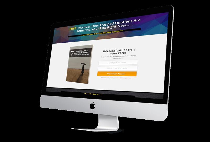Inner Healing Miracles Landing Page
